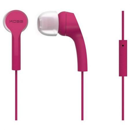 Koss Earbud KEB9 w/Mic Pink