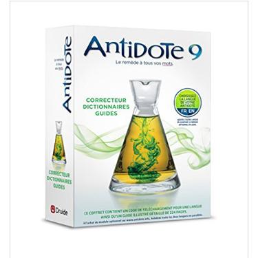 Antidote 9: Correcteur Dictionnaires Guides 3-Postes