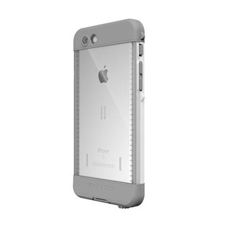Lifeproof iPhone 6S+ Nuud White/Grey Avalanche