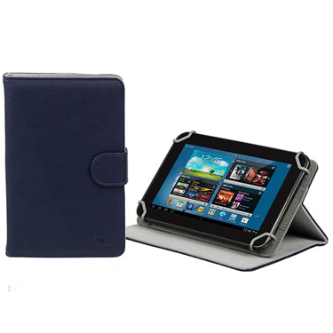 RivaCase Universal Tablet Case 7in Orly 3012 Blue