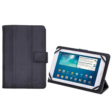 RivaCase Universal Tablet Case 8in Orly 3014 Black