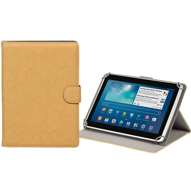 RivaCase Universal Tablet Case 10.1in Orly 3017 Beige