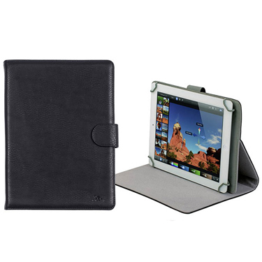 RivaCase Universal Tablet Case 10.1in Orly 3017 Black