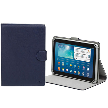 RivaCase Universal Tablet Case 10.1in Orly 3017 Blue