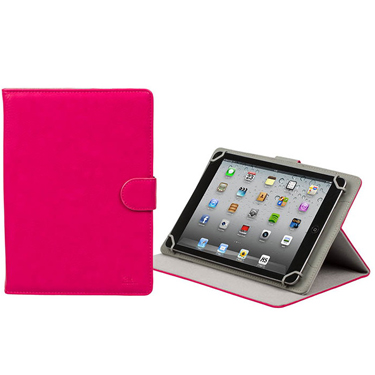 RivaCase Universal Tablet Case 10.1in Orly 3017 Pink