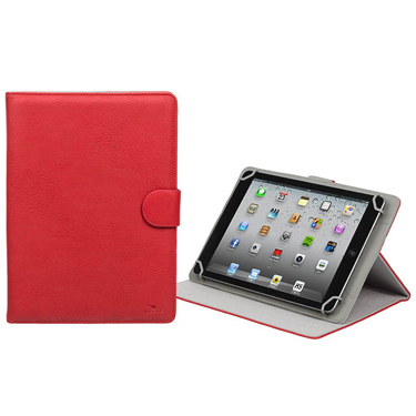 RivaCase Universal Tablet Case 10.1in Orly 3017 Red