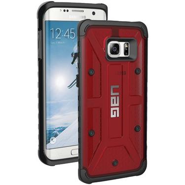 UAG Galaxy S7 Edge Magma Red/Black