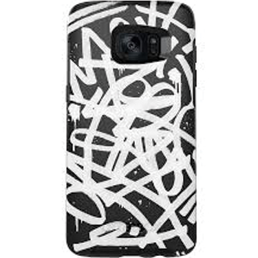 OtterBox Galaxy S7 Symmetry Graphic Black/Black Graffiti