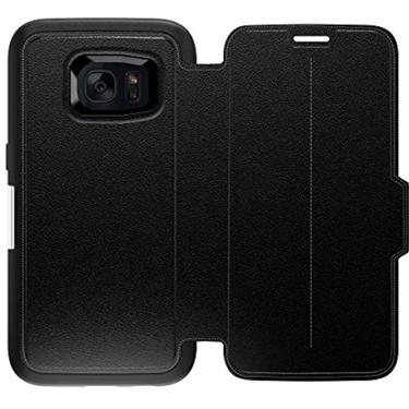 OtterBox Galaxy S7 Strada Folio Leather Black Phantom