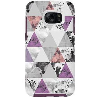 OtterBox Galaxy S7 Edge Symmetry White/Purple Perfect