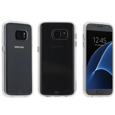 Case-Mate Galaxy S7 Edge Clear w/Clear Bumper Naked Tough
