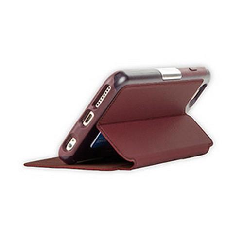 OtterBox iPhone 6+/6S+ Strada Folio Leather Black/Maroon