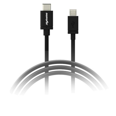 Digipower Charge & Sync Cable USB-C to Micro-USB 15W 2m