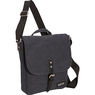 Kenneth Cole Reaction Flapover Tablet Canvas Navy