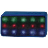 Lyrix Prysm Bluetooth LED 3W Speaker Blue