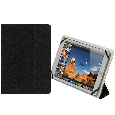 RivaCase Universal Tablet Case 10.1in 3127 Black/White