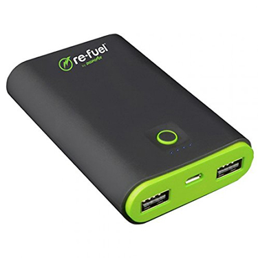 ReFuel 7800 mAh 2-Port USB Rechargeable Power Bank