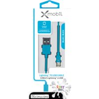 Colour Blast Charge & Sync Lightning Cable 3ft MFI Blue