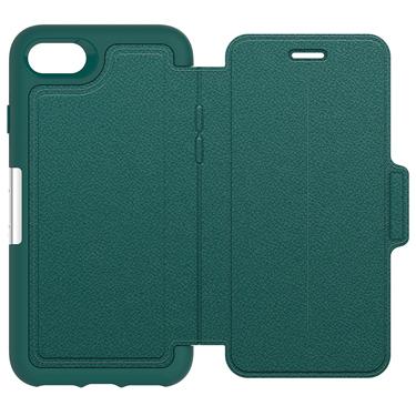 OtterBox iPhone 7/8 Strada Folio Leather Teal/Tan