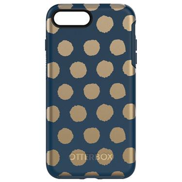 OtterBox iPhone 7+/8+ Symmetry Graphics Dark Blue/Dark Blue