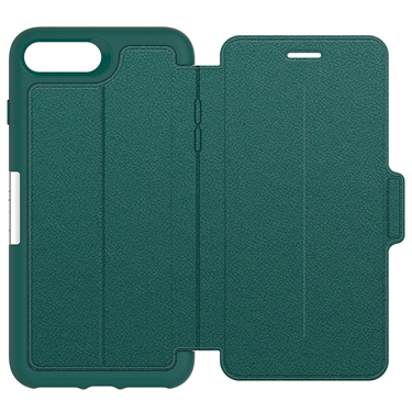 OtterBox iPhone 7+/8+ Strada Leather Folio Teal/Tan