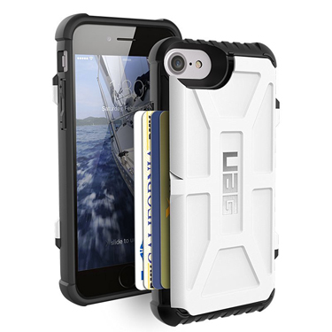 UAG iPhone 6S/7/8 Trooper Card White/Black