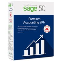 Sage 50 Premium 2017 Accounting 2-User BIL