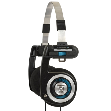 Koss Headphone Porta Pro Classic Collapsible Blk/Silver