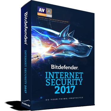 Bitdefender Internet Security 2017 1-User 1Yr BIL