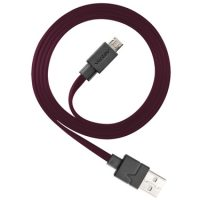 Ventev Charge & Sync Micro USB Cable 3.3ft Maroon