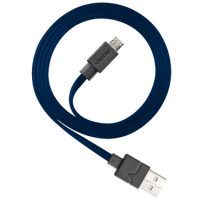 Ventev Charge & Sync Micro USB Cable 3.3ft Navy
