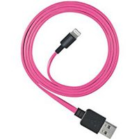 Ventev Charge & Sync Lightning Cable 6ft Pink MFI