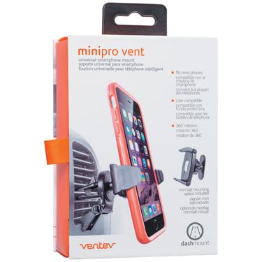 Ventev Mount Minipro Vent/Dash Mount