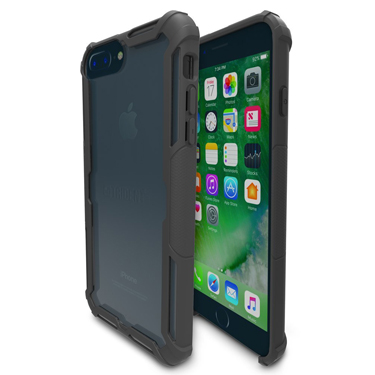 Trident iPhone 6+/6S+/7+/8+ Krios Dual Black/Clear