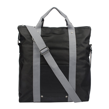 Buffalo Fold-Over Laptop Tote Jules Collection 15.6in Black