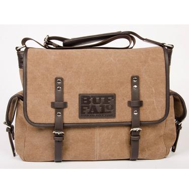 Buffalo Messenger Bag 15.6in Thomas Collection Brown