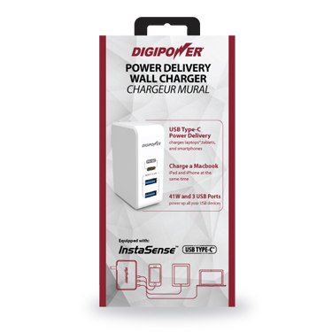 Digipower Wall Charger Power Delivery USB-Type C 29w