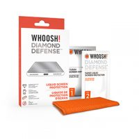Whoosh! Diamond Defense Liquid Nano Screen Protection w/cloth