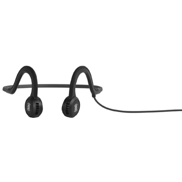 Aftershokz Sportz Titanium Wired Headphone Onyx Black