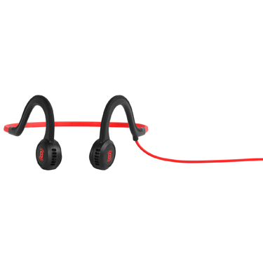 Aftershokz Sportz Titanium Wired Headphone Lava Red
