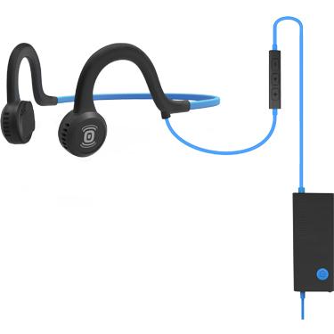 Aftershokz Sportz Titanium Wired Headphone w/Mic Blue
