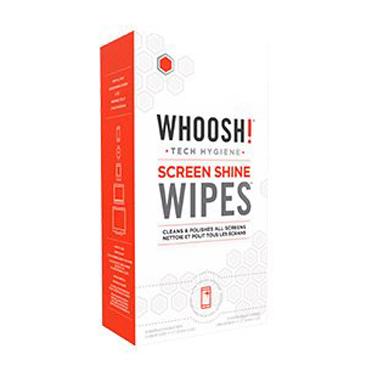 Whoosh! Screen Shine Wipes 30 Pack w/2 Cloths