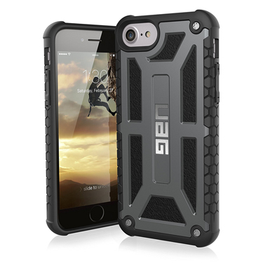 UAG iPhone 6S/7/8 Monarch Black Graphite