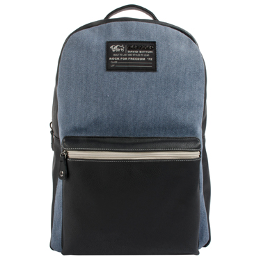 Buffalo Backpack Robinson Collection 15in Denim Blue