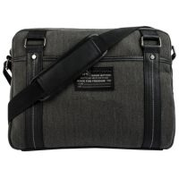 Buffalo Messenger Bag 15.6in Robinson Denim Black