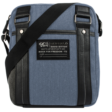 Buffalo Tablet Sling Robinson Collection 10.1in Denim Blue