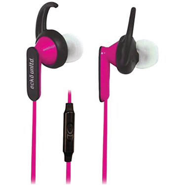 Ecko Nytro Earbuds w/Mic Pink