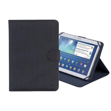 RivaCase Universal Tablet Case 10.1in Biscayne 3317 Blk