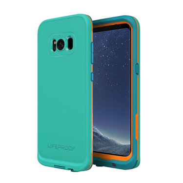 Lifeproof Galaxy S8 Fre Light Blue/Mango Sunset Bay