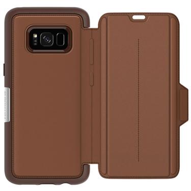 OtterBox Galaxy S8 Strada Folio Brown/Brown Leather